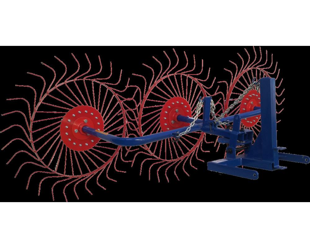 Грабли-ворошилка колесно-пальцевая ВМ-3 (Вулкан) для мотоблока