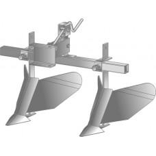 Окучник двухрядный со сцепкой (стандарт) (Каскад, Нева, Кадви, Целина.)