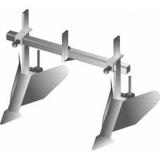 Окучник регулируемый двухрядный (Усиленный) без сцепки (Целина МБ, Каскад, Нева, Кадви МБ) и др.