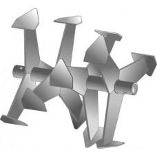 Фрезы гусиные лапки (Усиленные) Ø-30мм круг, 409х375мм (Целина МБ, Каскад, Нева, Кадви МБ, Ока)