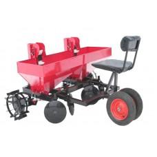 Картофелесажалка двухрядная для мини-трактора
