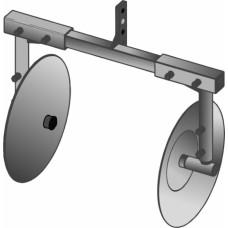 Окучник дисковый б/сц раздвижной (Целина, Нева, Каскад, КАДВИ) и др.