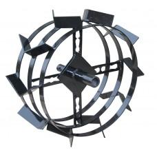 Грунтозацепы Усиленные Ø-30 мм круг (480х200 мм) двухсторонняя втулка (Нева, Каскад, Целина, КАДВИ, Луч, Форза)