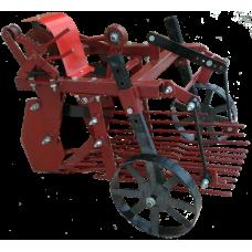 Картофелекопалка для мотоблока вибрационная сдвоенный шкив ККМ-1 (Вулкан) (НЕВА, Целина, Каскад, Ока)