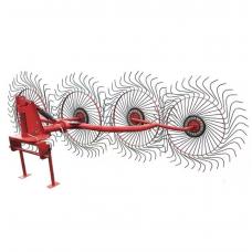 Грабли колесно-пальцевые тракторные 4-х колесные