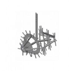 Полольник-рыхлитель Ёж без сцепки однорядный  (Целина, Нева, Каскад, КАДВИ,) и др