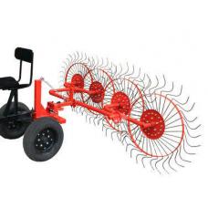 Грабли-ворошилка колесно-пальцевая ВМ-4 (Вулкан) для мотоблока