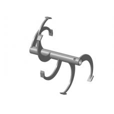 Фрезы спиральные Ø-30мм 470х310мм (6 зубьев) (МБ Целина МБ, Каскад, Кадви, Нева)