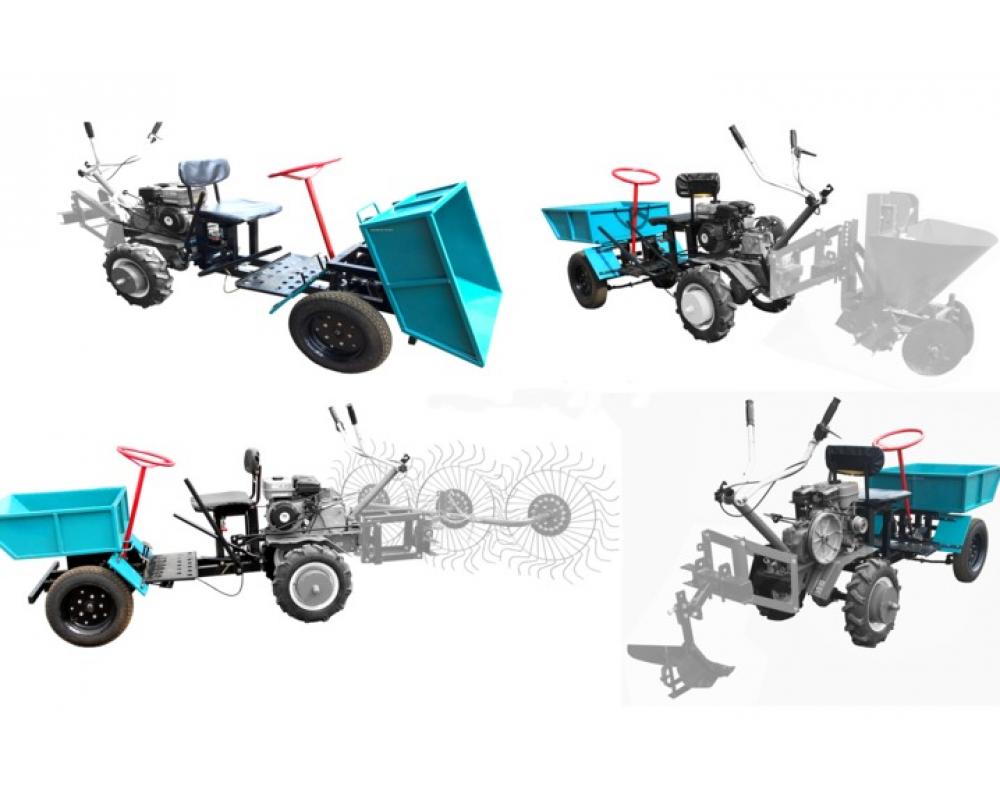 Адаптер передний кузовной для мотоблока (Forza, Ока, Каскад, Луч, Нева, Целина)