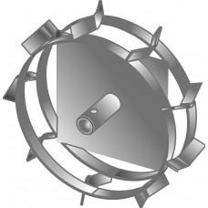 Грунтозацепы c усиленной втулкой  Ø-25 мм круг  (340х95мм, Целина 404,406,Крот, Тарпан, Ранчо, ELITECH КБ-51,52)