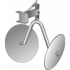 Окучник дисковый со сцепкой Стандарт (Нева, Целина, Каскад, КАДВИ)