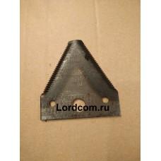 Нож сегментный к косилке роторной (КРН 800-1, КРН 800-2, КРН-1М)