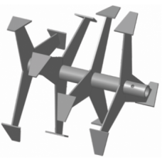 Фрезы гусиные лапки Ø-30мм круг, 395х390мм (Нева, Каскад, Целина, КАДВИ, Луч)
