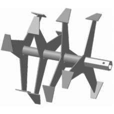 Фрезы Гусиные лапки S-32 мм 6-гранник (390-355мм) Forza, Crosser, Weima, Хопер итд