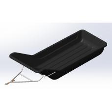 Сани-волокуши со сцепным устойством и отбойником для гусеничных приводов, мотобуксировщиков и снегоходов (1700 мм*800 мм*300 мм)
