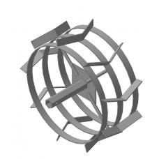Грунтозацепы S-24 шестигранник (445х180)  (Форза, Кроссер, Вейма, Хопер)