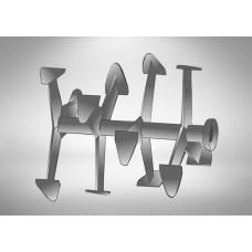 Фрезы Гусиные лапки (Усиленные) с пыльником Ø-25мм круг  (Салют/Агат, Целина МБ-501)