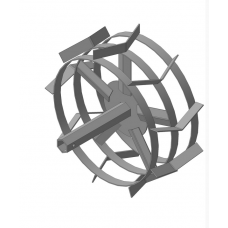 Грунтозацепы S-31-32 шестигранник (445х180) Усиленные спицы (Форза, Кроссер, Вейма, Хопер)